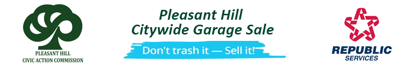 Pleasant Hill Citywide Garage Sale